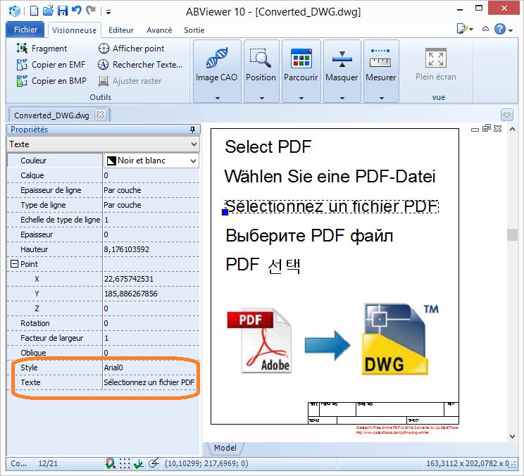 무료 온라인 PDF to DWG 변환기
