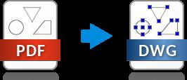 PDF vers DWG, convertisseur gratuit en ligne